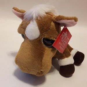 RUSS Lil Peepers Hercules the Horse Plushie NWT